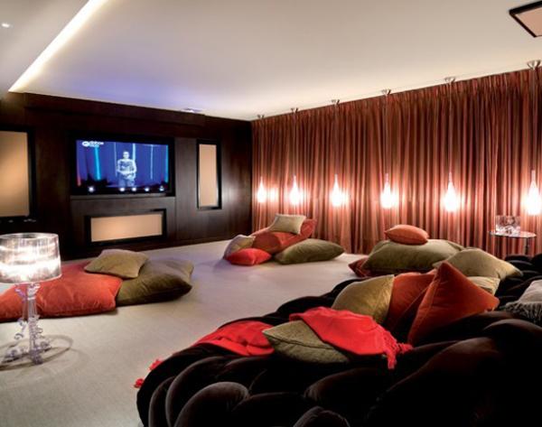 Home Theater Seat Design Ideas