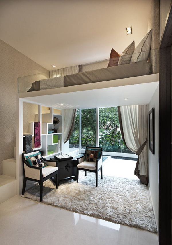 12 cheap ideas to make. Most Amazing Loft Bedroom Designs   InteriorHolic.com
