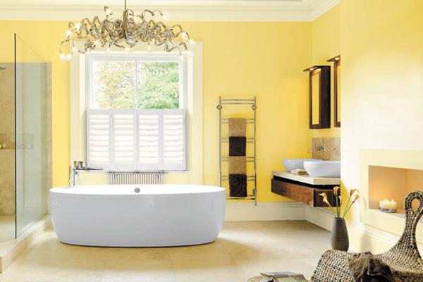 Yellow Bathroom Design Ideas