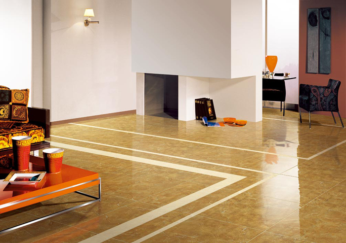 Vitrified Tiles To Give A Contemporary Look To The