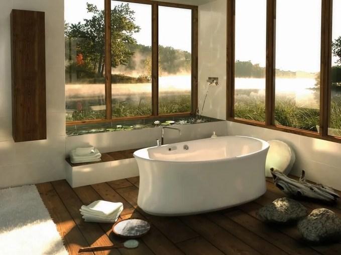 Beautiful Spa Inspired Bathroom