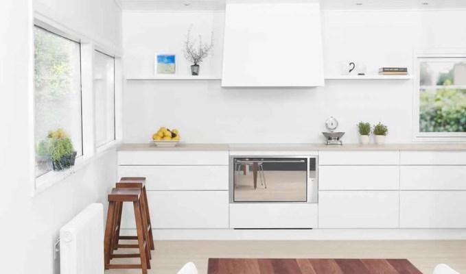 Clean White Kitchen Design