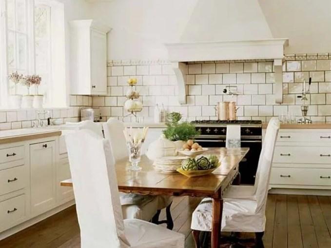 Cozy White Kitchen