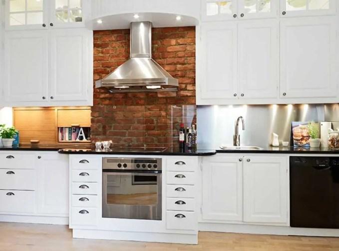 Friendly White Kitchen