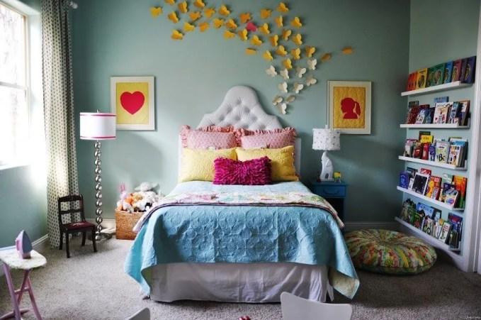 Lovely Blue Girl's Bedroom