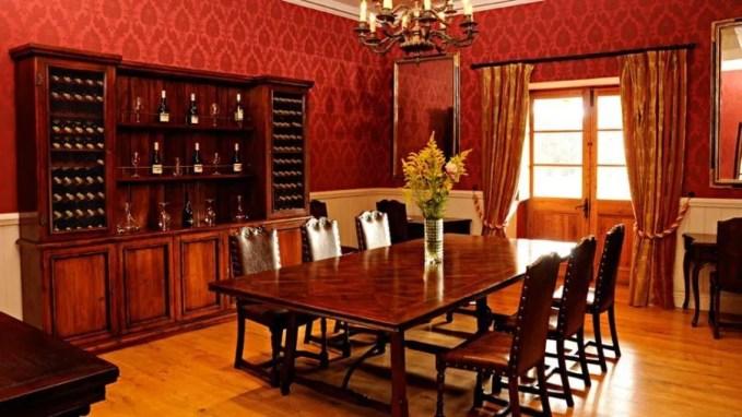 Ravishing Red Dining Room