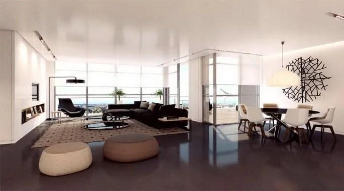 bright-apartment-living-room-with-dark-sofa