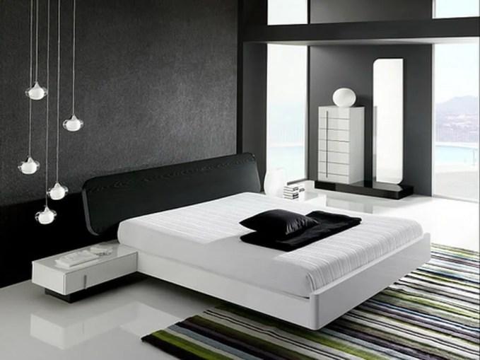 modern elegant bedroom