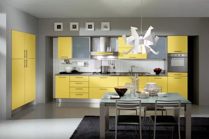very-small-yellow-kitchen-design-ideas