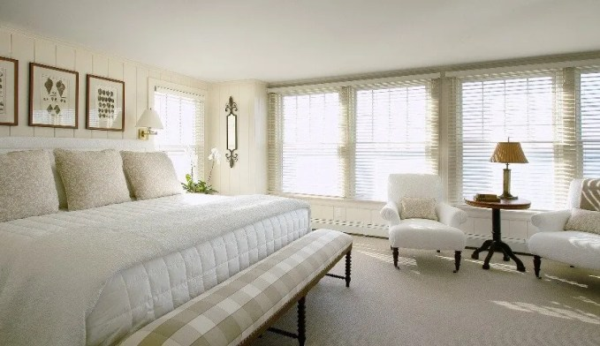 Classical Airy Bedroom