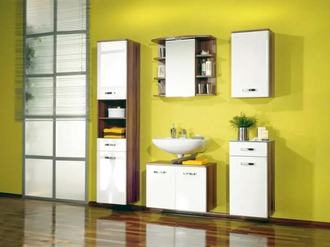 Fresh Yellow Bathroom