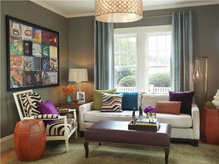 Eclectic Living Room 10 modern eclectic living room interior design ideas - https