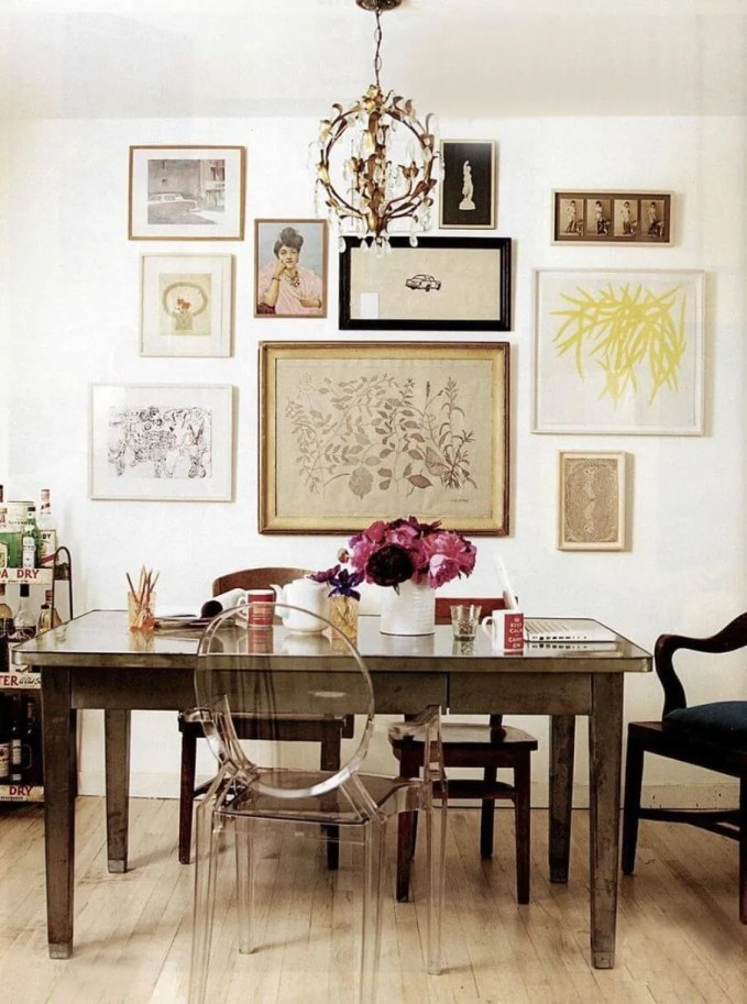 Vibrant Eclectic Dining Room