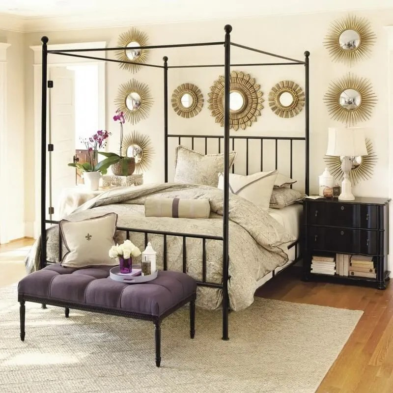 10 wonderful bedroom interior design ideas with canopy for Beautiful decoration of bedroom