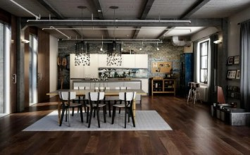 10 Modern Industrial Style Interior Design Ideas