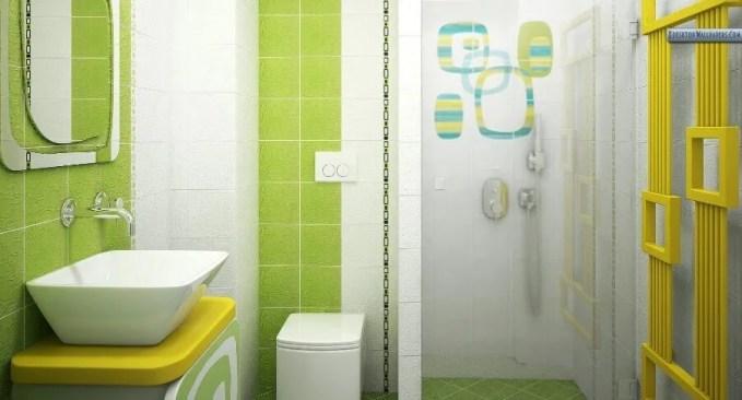 Charming Green Bathroom