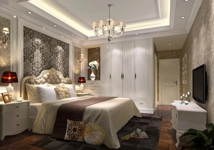 Classy Elegant Bedroom