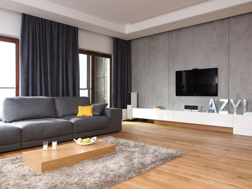 ... Modern Grey Living Room
