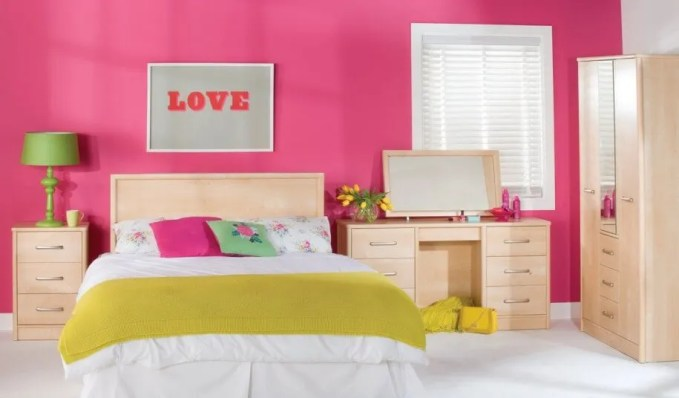 bright Colorful Bedroom