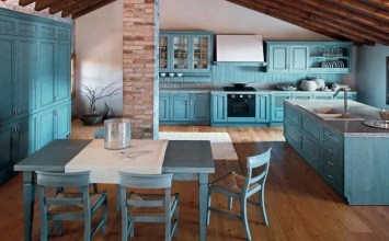 10 Astounding Blue Kitchen Interior Design Ideas