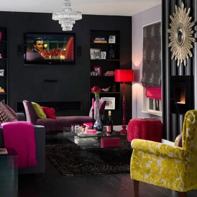 Trendy-dark-living-room-idea