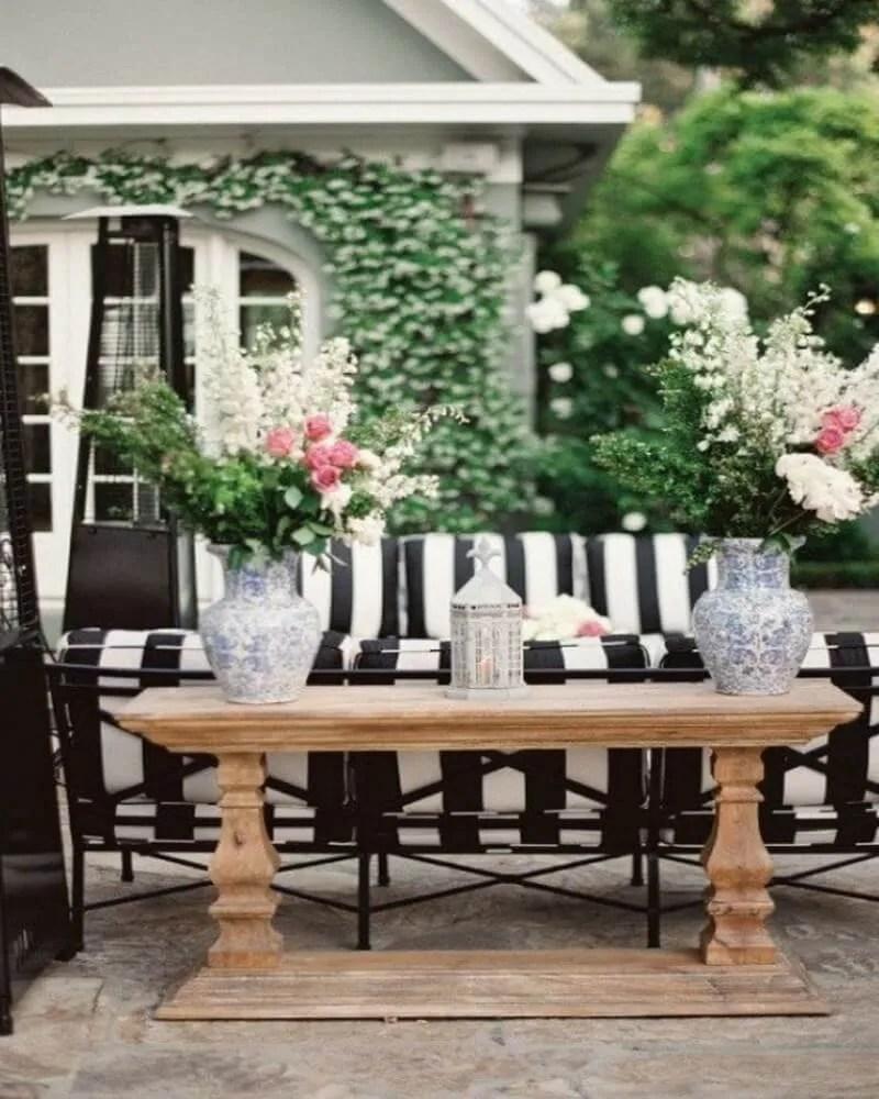 10 Gorgeous Black and White Patio Design Ideas - Interior Idea on White Patio Ideas id=67226