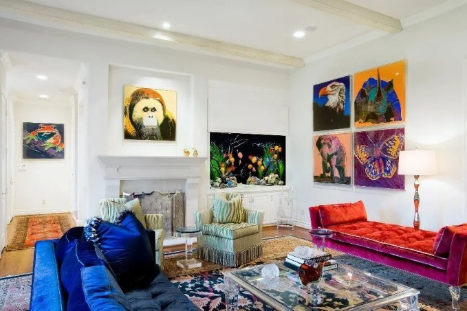 Amazing Pop Art living Room