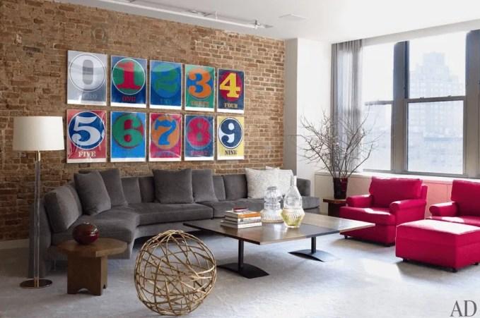 Beautiful Pop Art Living Room