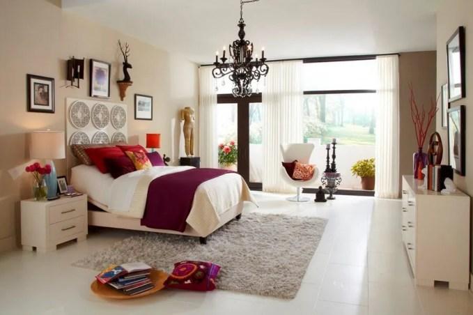 Fancy Eclectic Bedroom