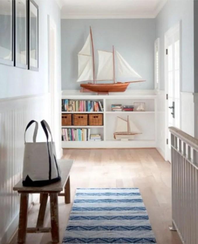Fresh Coastal Hallway