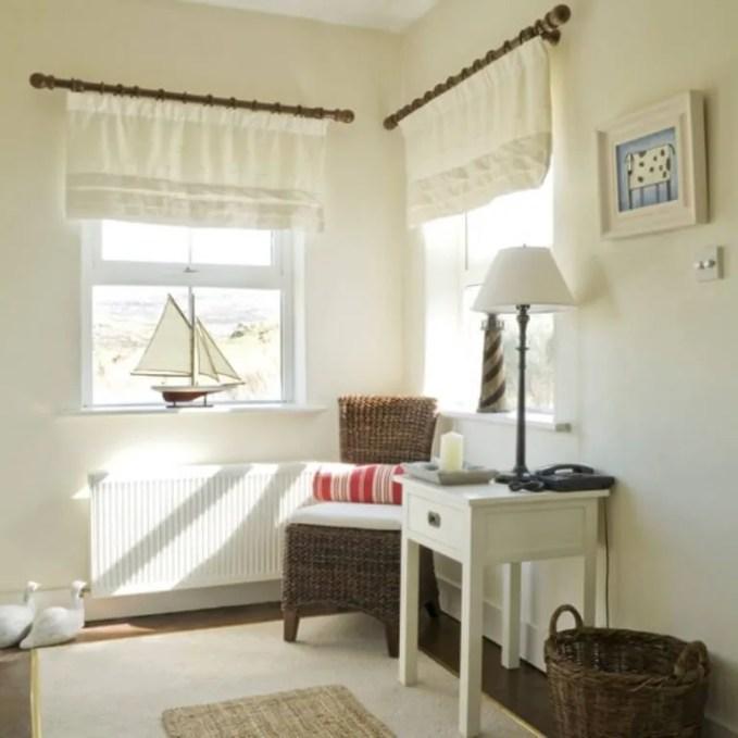 Sophisticated-White-Coastal-Hallway