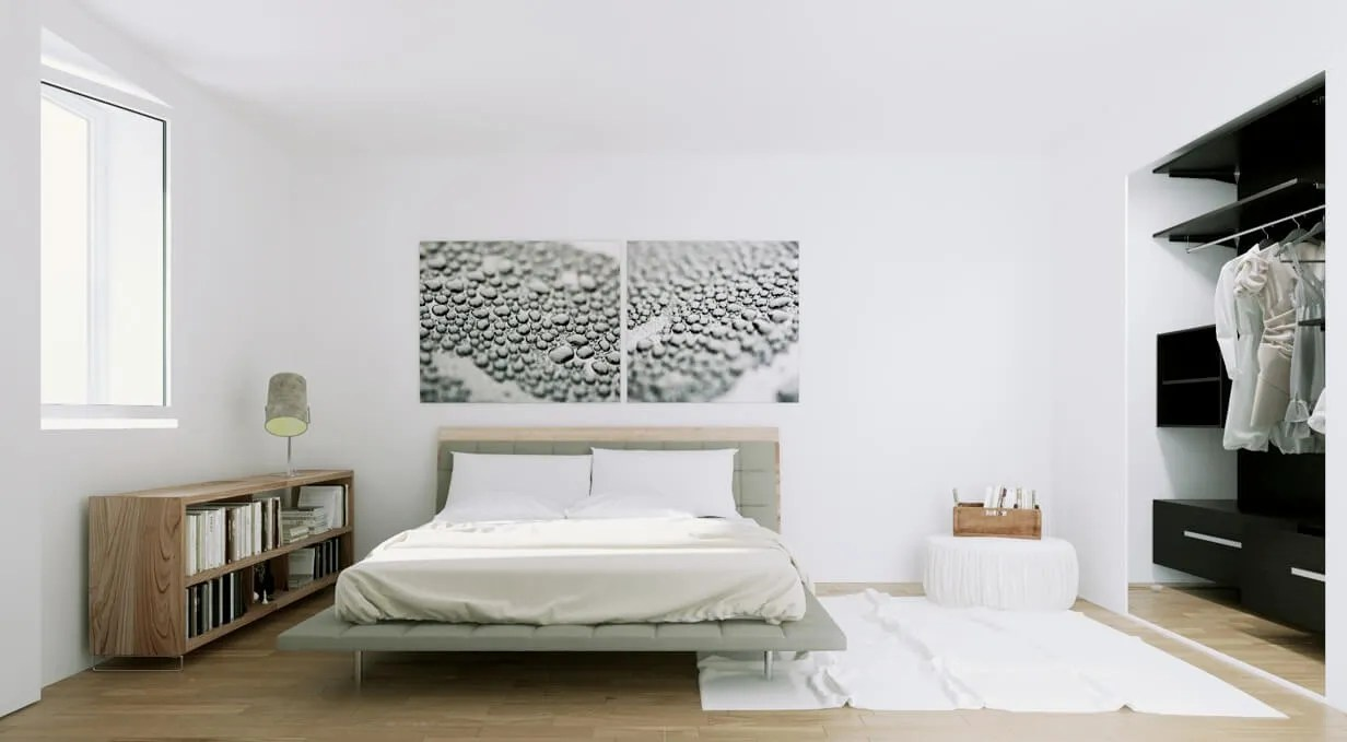 10 inspiring scandinavian bedroom interior design ideas - Cabecero cama original ...