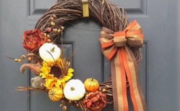 Top 8 Thanksgiving Wreath Design Ideas