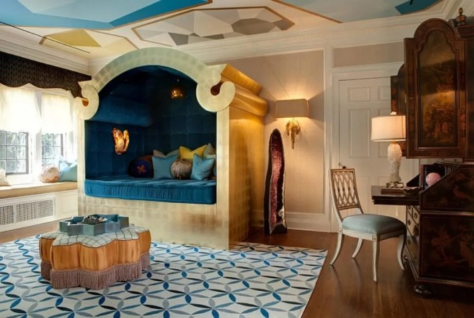Bold Moroccan Bedroom