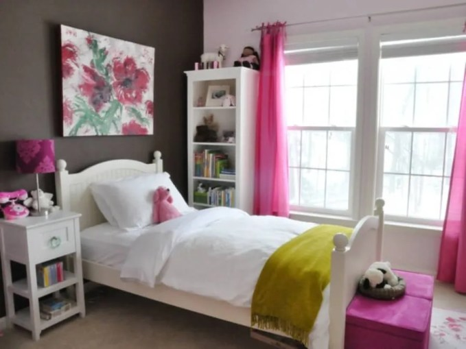 Bold Teenage girl bedroom ideas
