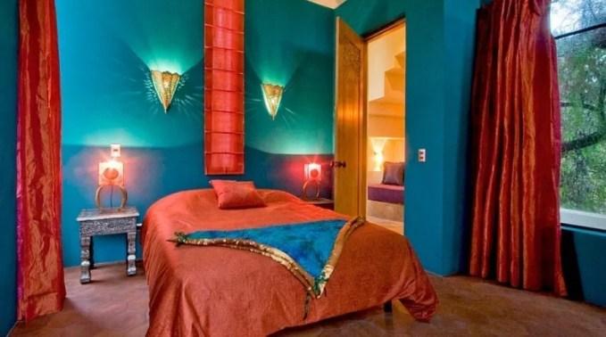 Dazzling Moroccan Bedroom