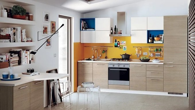 Lively Small Italian Kitchen