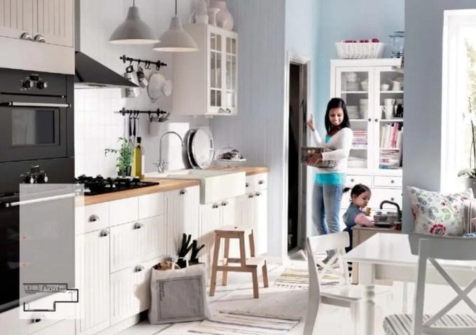bright Ikea Kitchen