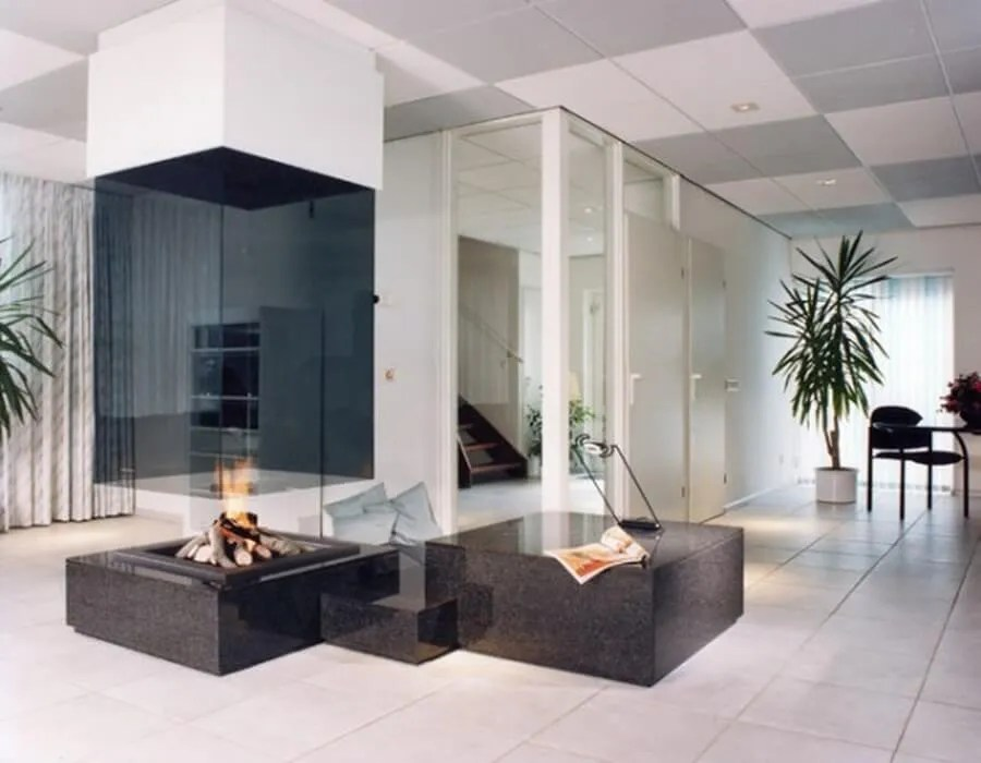 7 Gorgeous Glass Fireplaces for the Living Room - https ...