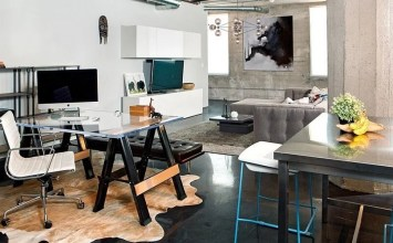 Top 9 Industrial Home Office Design Ideas