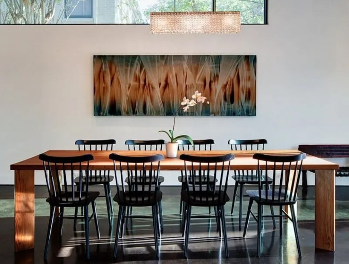 Cool Minimalist Dining Room