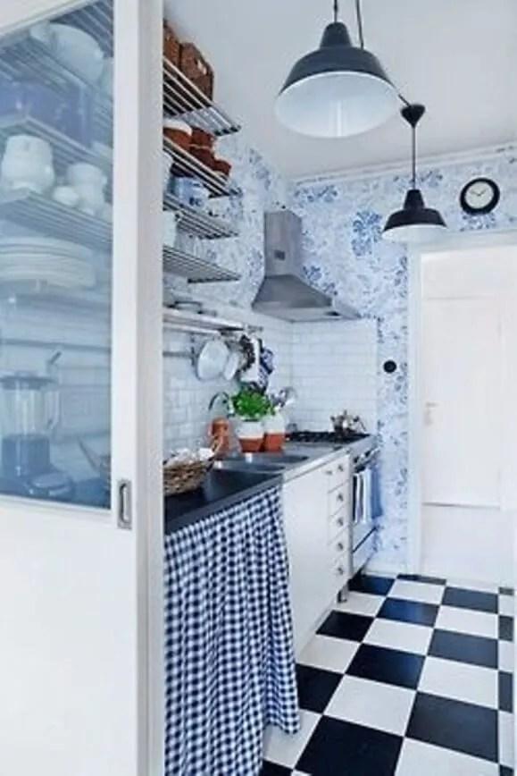 Fancy Scandinavian Rustic Kitchen