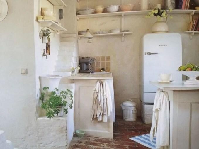 Old fashion Scandinavian Rustic Kitchen