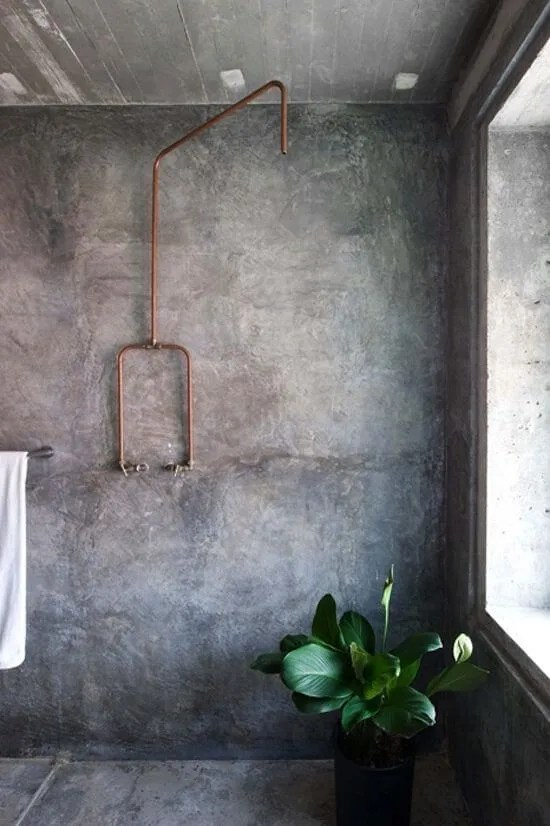 Spacious Indsutrial Bathroom