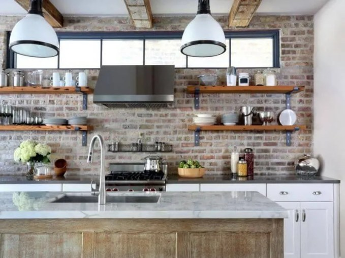Urban Kitchen With Open Shelving