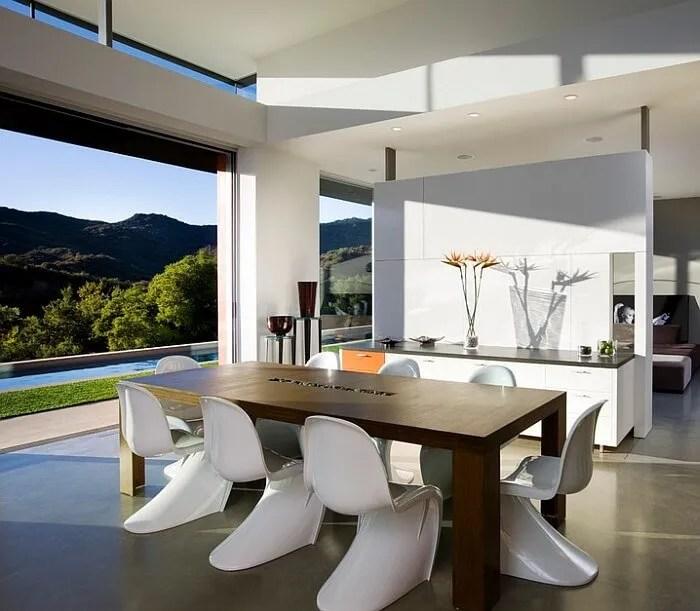 10 Amazing Minimalist Dining Room Design Ideas - https ... on Minimalist Room Design  id=85544