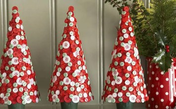 13 Cool Tabletop Christmas Trees for a Festive Touch
