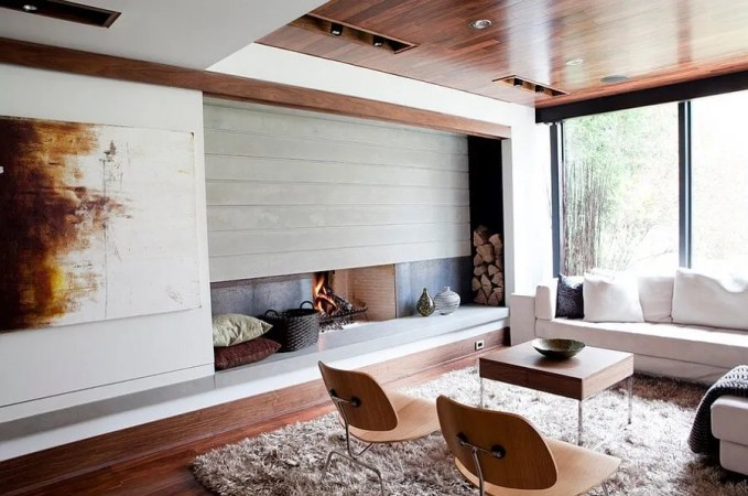 Corner Firewood Nook