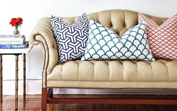 Geomtric Pillows