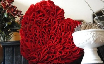 10 Adorable Heart Shaped Decoration For Valentine's Day